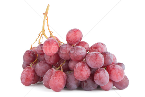 Bunch of red grapes Stock photo © homydesign