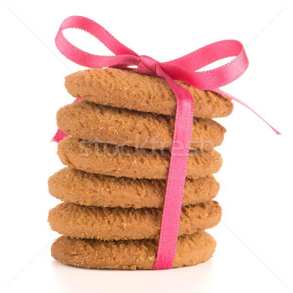 Festive wrapped biscuits Stock photo © homydesign