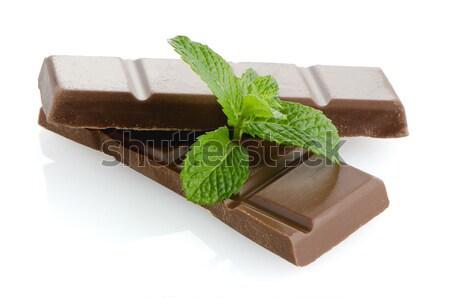 Pormenor chocolate de Foto stock © homydesign