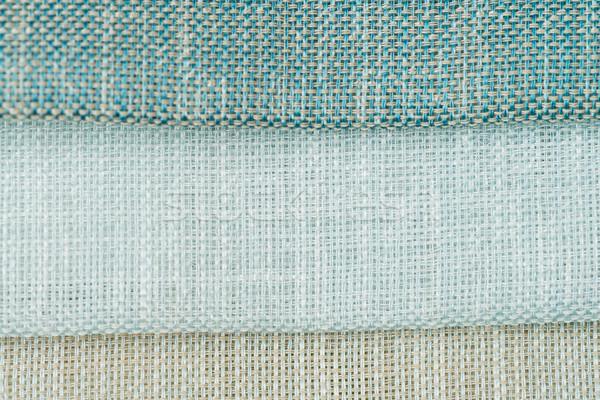 Groene weefsel textuur detail abstract Stockfoto © homydesign
