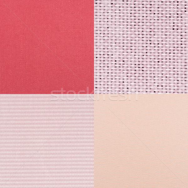Conjunto rosa vinil textura parede Foto stock © homydesign