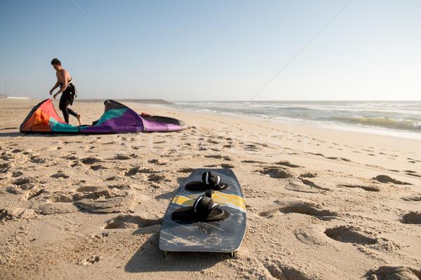 Kitesurfer  Stock photo © homydesign