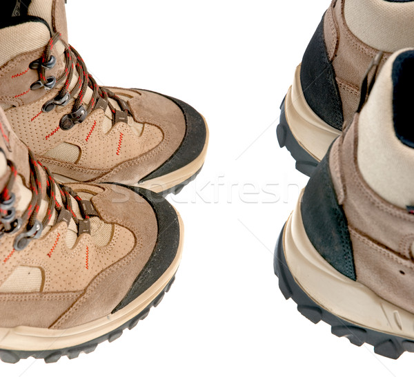 Hiking boots Stock photo © homydesign