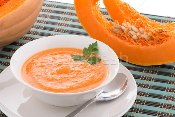 Pumpkin soup  Stock photo © homydesign