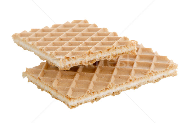 Vanilla wafers Stock photo © homydesign