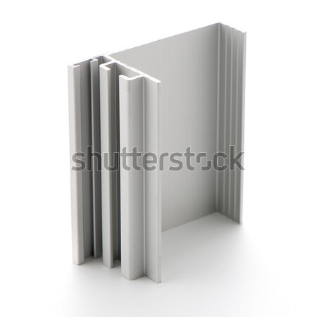 Aluminium profile sample Stock photo © homydesign