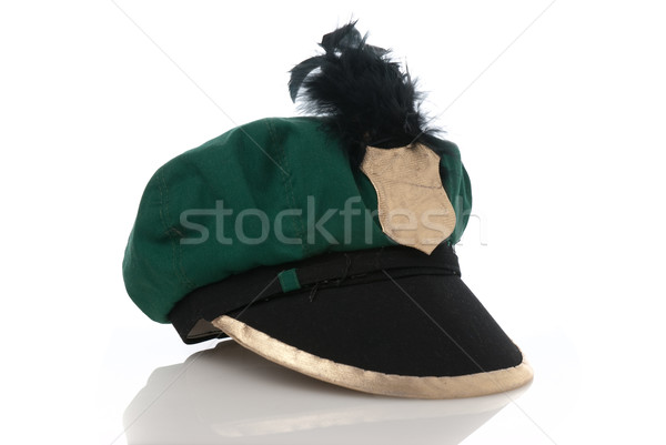 Fake military green hat Stock photo © homydesign