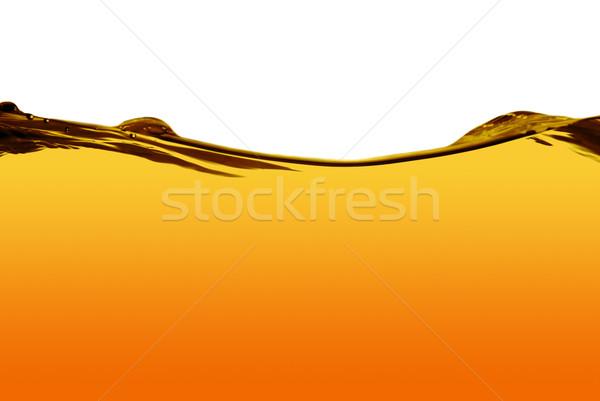 оранжевый воды линия изолированный белый текстуры Сток-фото © homydesign
