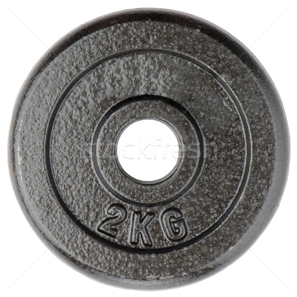 Dumbbell weight Stock photo © homydesign