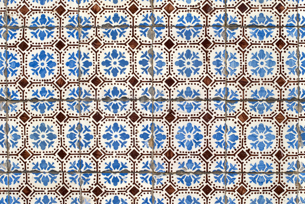 Portuguese glazed tiles 034 Stock photo © homydesign