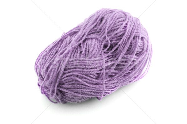 Blue  knitting wool Stock photo © homydesign