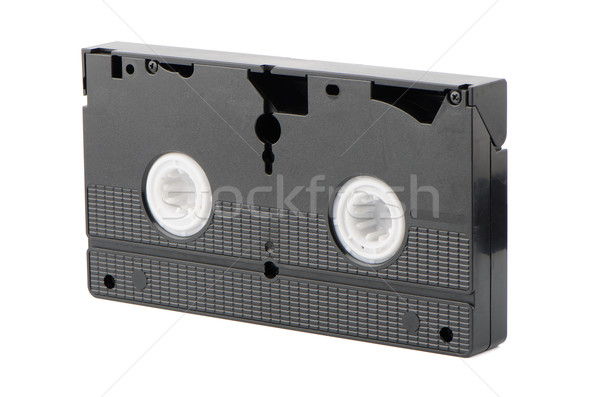 Old VHS Video tape Stock photo © homydesign