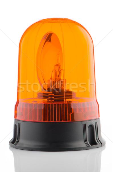 Oranje baken witte medische achtergrond Stockfoto © homydesign