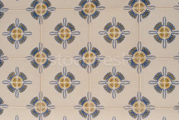 Portuguese glazed tiles 215 Stock photo © homydesign