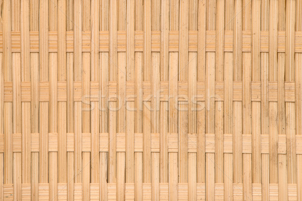 Background of rustic interlaced straw Stock photo © homydesign
