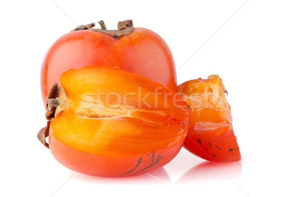 Foto stock: Maduro · frutas · fondo · naranja · verde · rojo