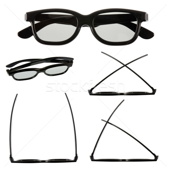 3D glasses Stock photo © homydesign