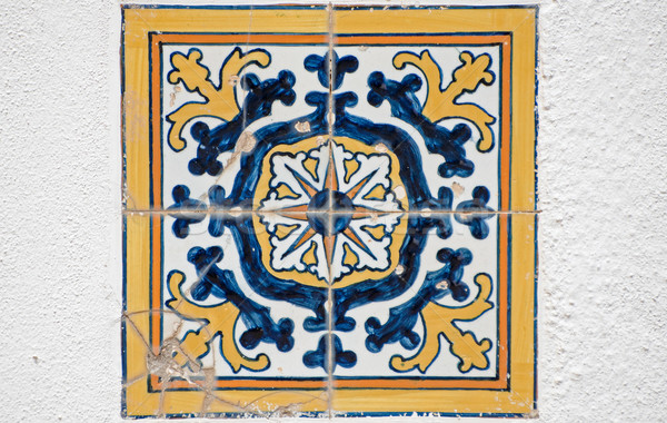 Old tiles detail  Stock photo © homydesign