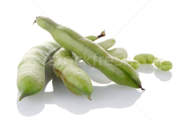 サヤインゲン ポッド 白 食品 風景 キッチン ストックフォト © homydesign