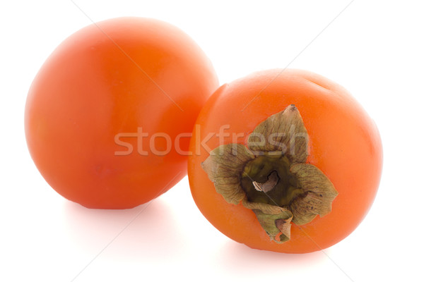 Persimmon fruits Stock photo © homydesign