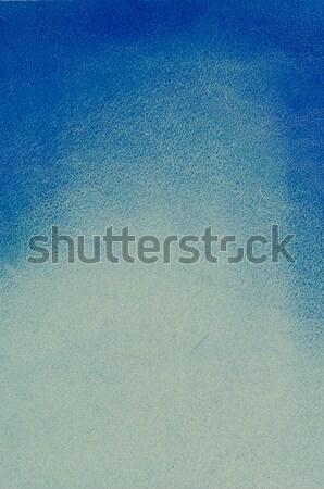 Leather blue background  Stock photo © homydesign