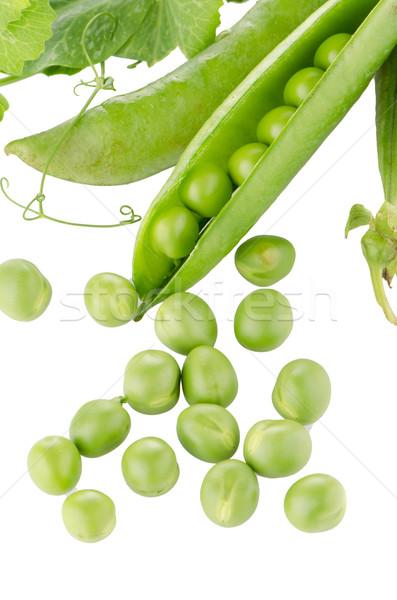新鮮な 緑 ポッド 白 食品 グループ ストックフォト © homydesign