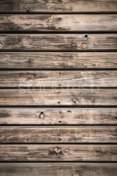 Eski ahşap doku zemin yüzey duvar arka plan Stok fotoğraf © homydesign