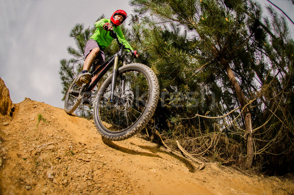 MTB downhill Stock photo © homydesign