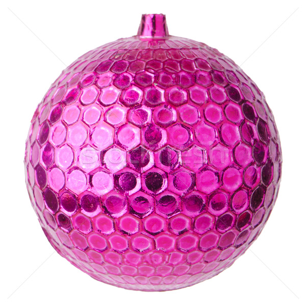 Pink dull christmas ball  Stock photo © homydesign