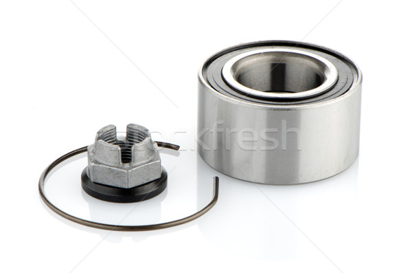Steel bearing to the vehicle Stock photo © homydesign