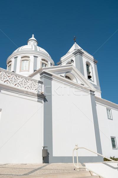 Católico iglesia ciudad Portugal casa edificio Foto stock © homydesign