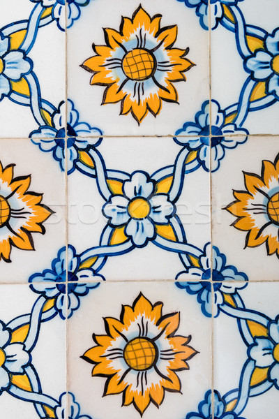 Portuguese tiles Stock photo © homydesign