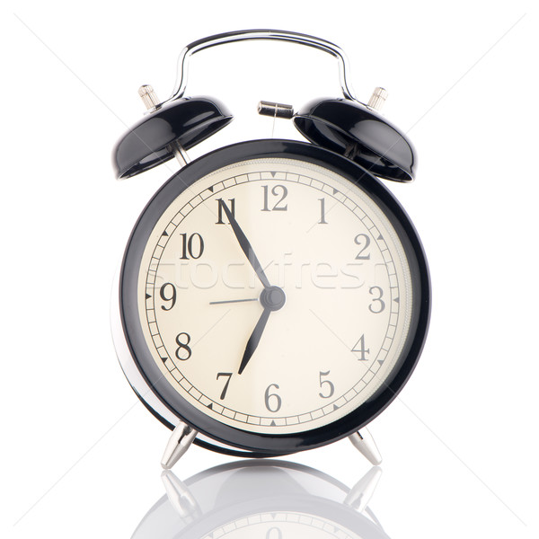 Old fashioned alarm clock Stock photo © homydesign