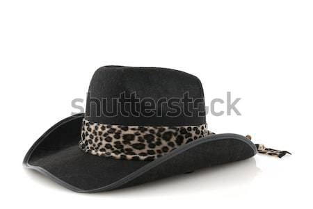 A Black cowboy hat  Stock photo © homydesign