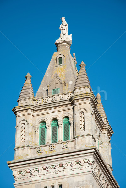 Church tower detail Stock photo © homydesign
