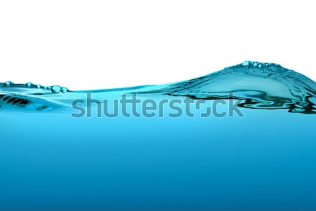 Blue water wave Stock photo © homydesign