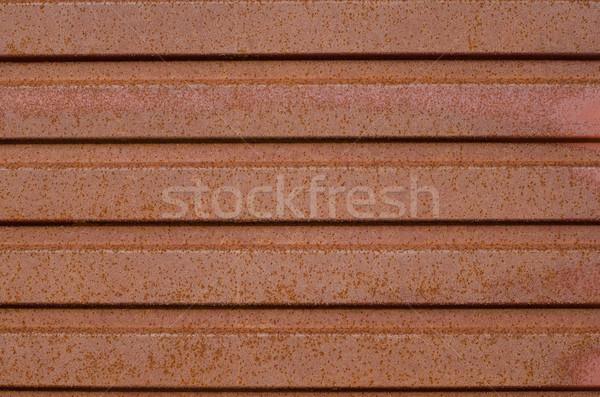 Corrugated metal Stock photo © homydesign