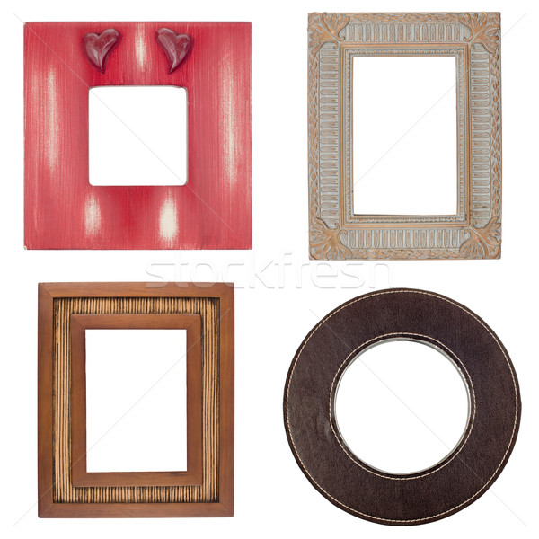 Four picture frames Stock photo © homydesign