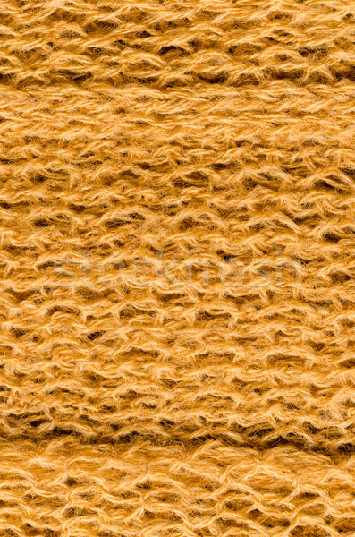Geel wol textuur weefsel Rood Stockfoto © homydesign