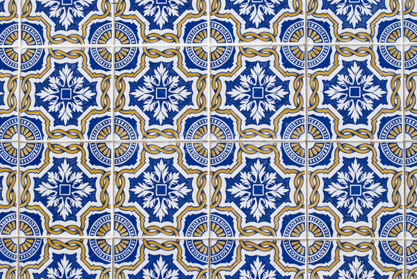Portuguese glazed tiles 068 Stock photo © homydesign