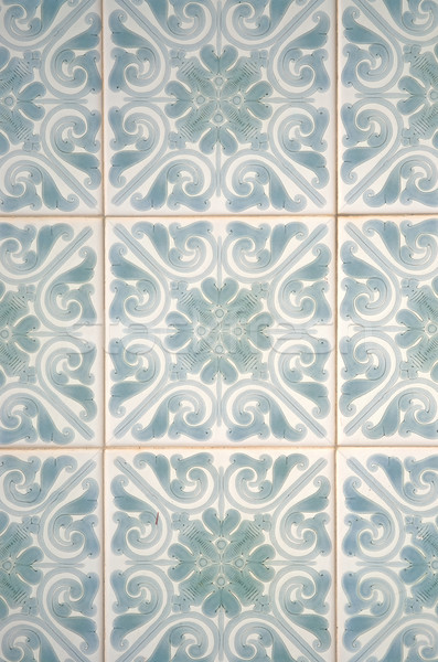 Traditional Portuguese azulejos Stock photo © homydesign