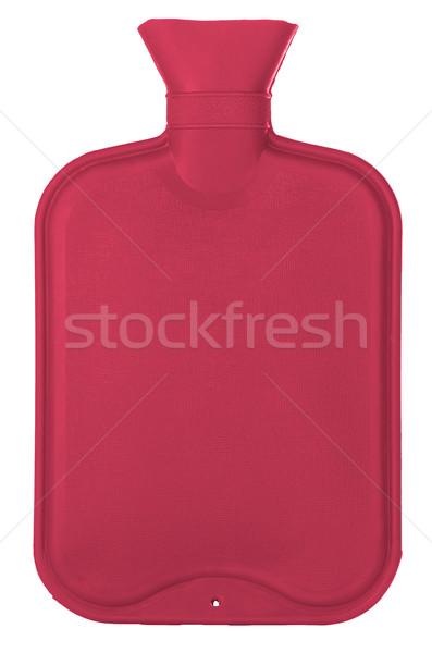 Heet water fles geïsoleerd witte medische gezondheid Stockfoto © homydesign