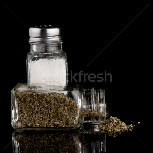 соль орегано кухне приготовления объект фотографии Сток-фото © homydesign