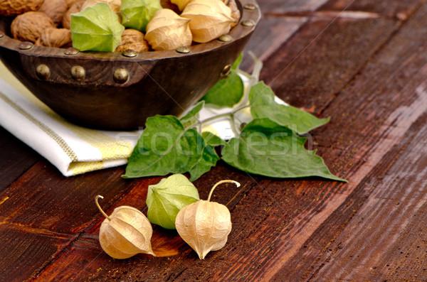 Stock photo: Physalis fruits