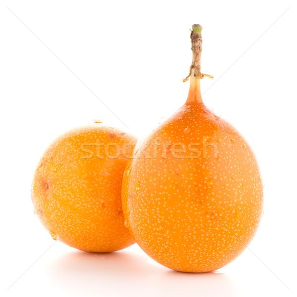 страсти фрукты продовольствие оранжевый тропические желтый Сток-фото © homydesign