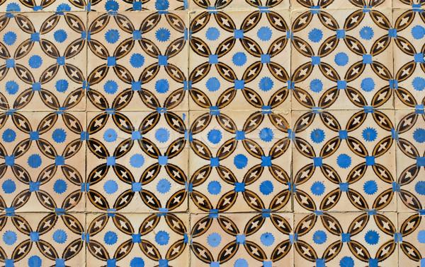 Portuguese glazed tiles 103 Stock photo © homydesign