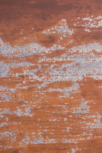 Intemperie rosolare verniciato screpolato texture Foto d'archivio © homydesign