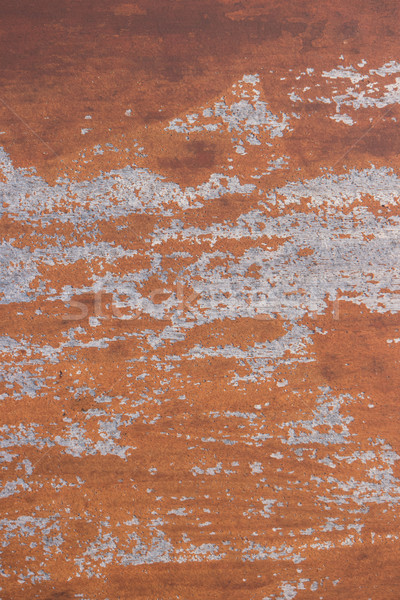 Resistiu marrom pintado rachado textura Foto stock © homydesign