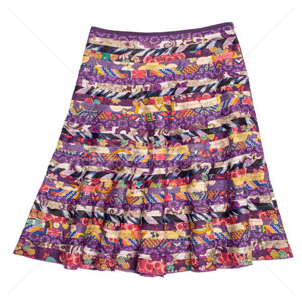 Stock photo: Colorful indian style  skirt