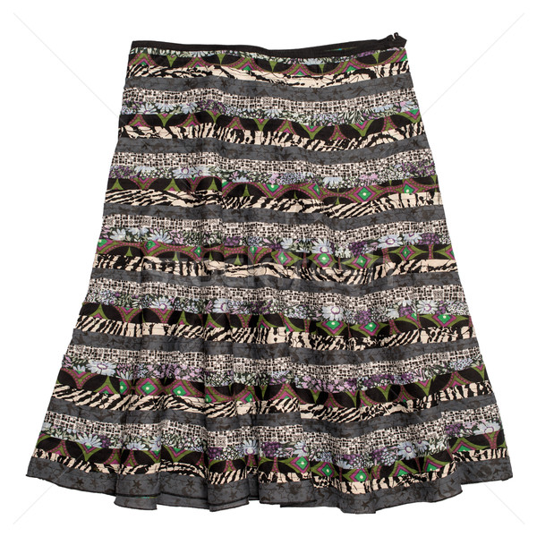 Colorful indian style  skirt Stock photo © homydesign